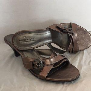 Rockport bronze sandals